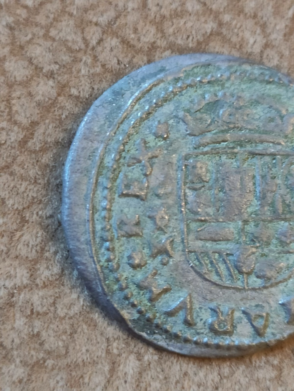 16 Maravedís Felipe IV de Trujillo, 1663 (fecha anverso) Img-2016
