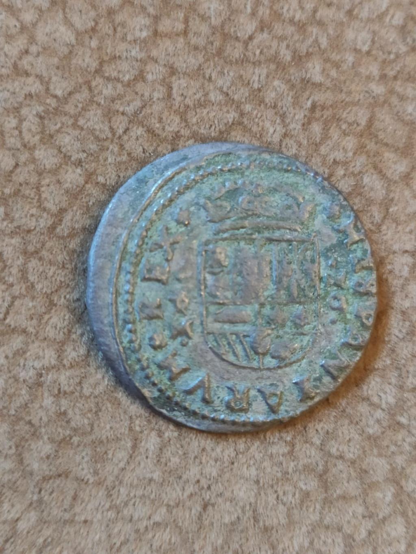 16 Maravedís Felipe IV de Trujillo, 1663 (fecha anverso) Img-2017