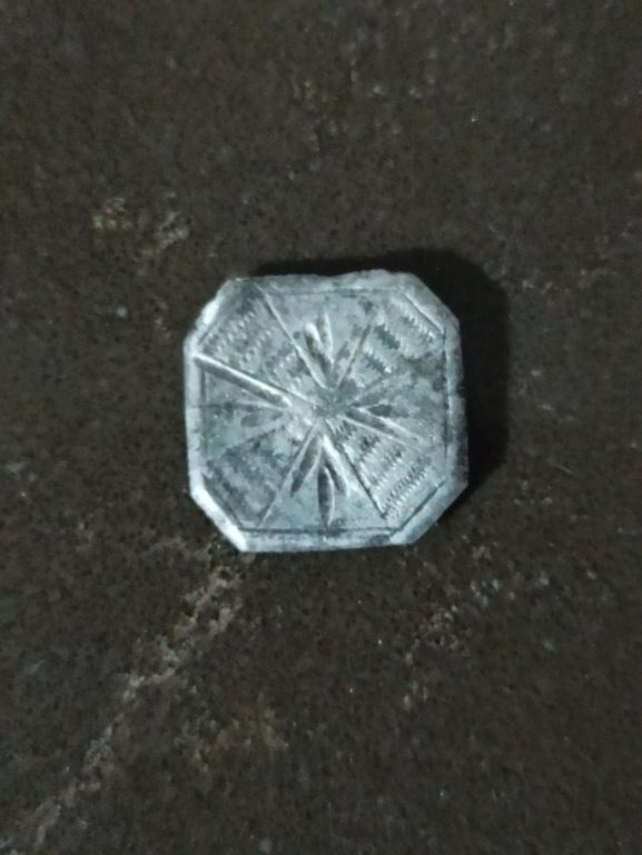 """Botón cruz patada o ensanchada """"aspas"""". Tipo S37 Img_2066"""