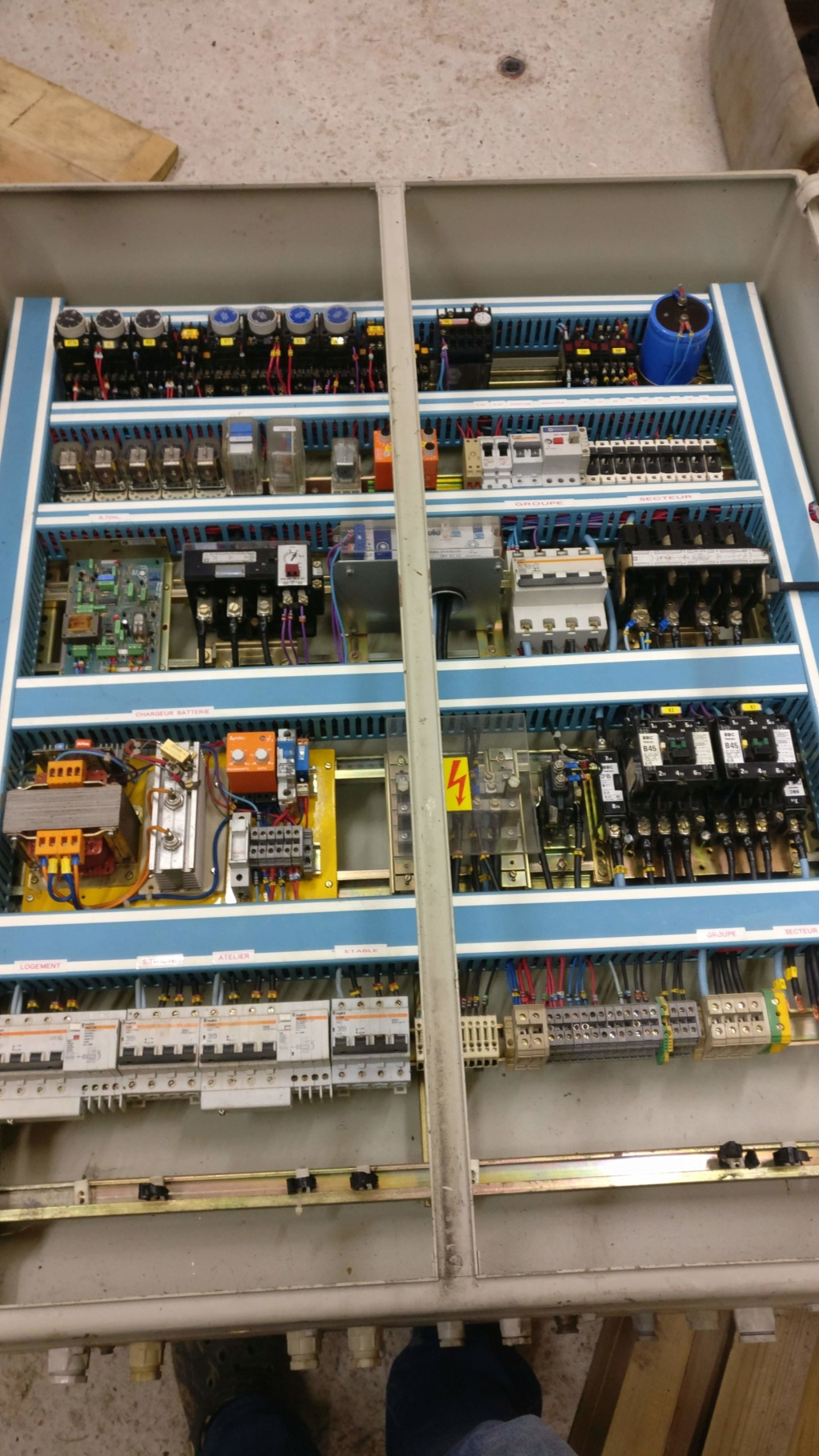 Remise en etat groupe deutz + generatrice 25Kva Img_2016
