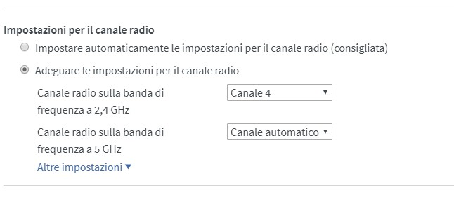 FRITZBOx 7590e videocamere DLink Canale10