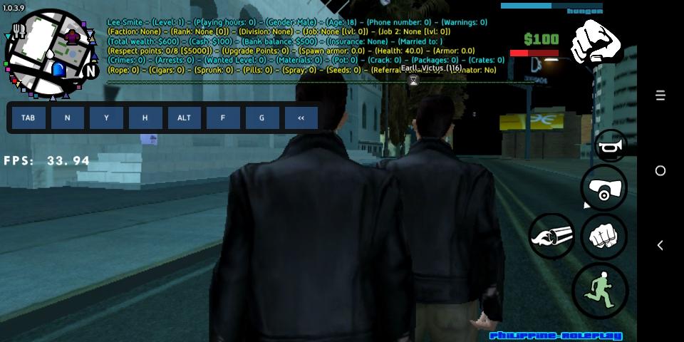 Los Santos police department application Screen17