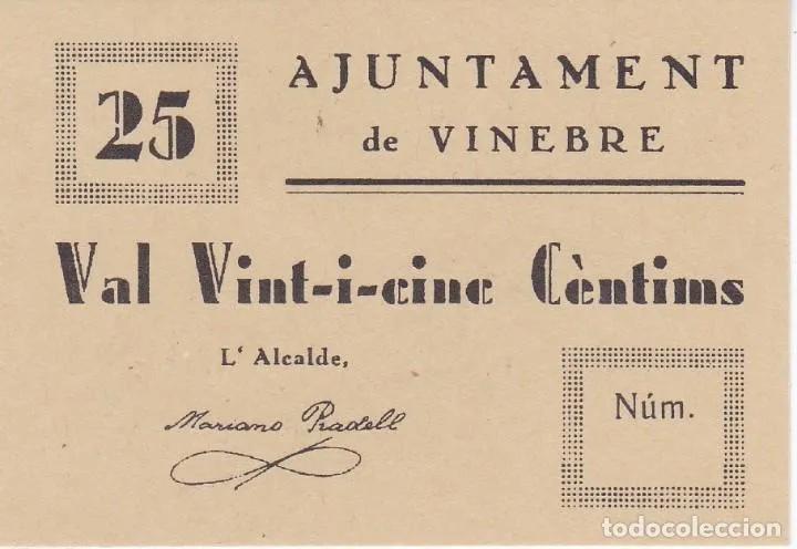 50 cts de Vinebre Reproducción?? 15556113