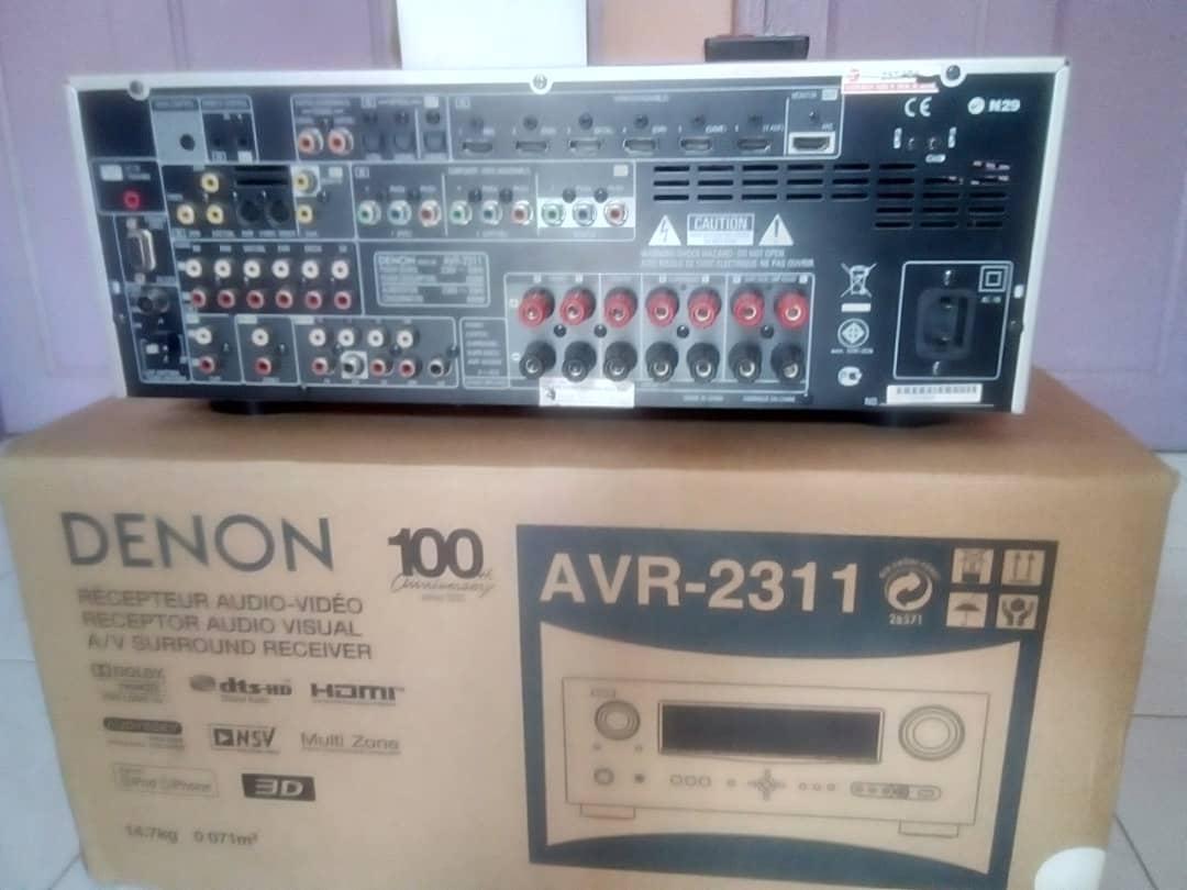 Denon AV Receiver 7.1 Whatsa14