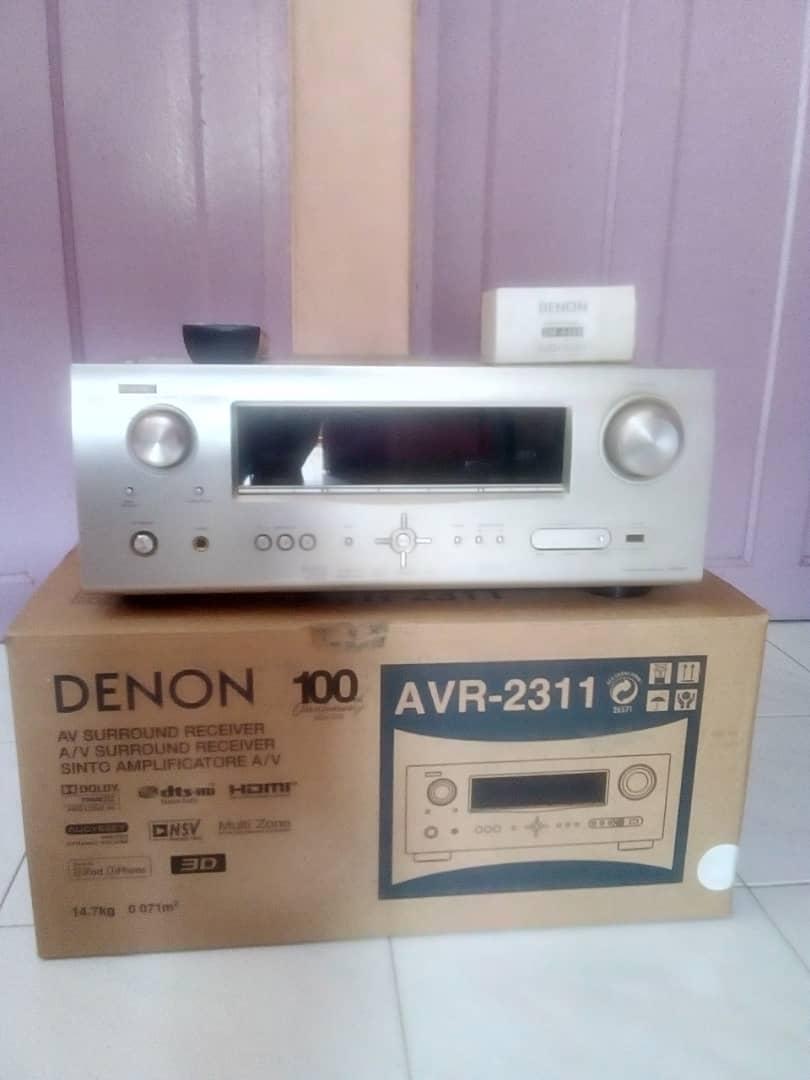 Denon AV Receiver 7.1 Whatsa15