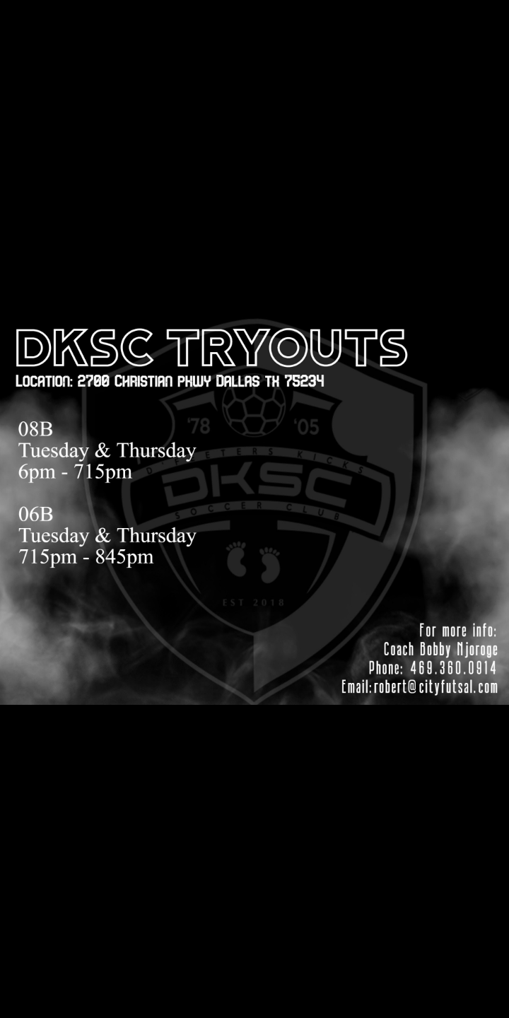 DKSC Try-Outs! 08 Boys & 06 Boys Screen10