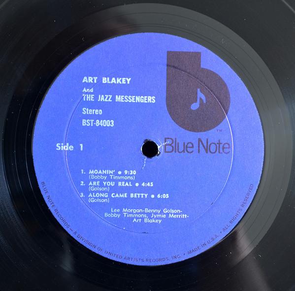 Blue note poet Bst84010