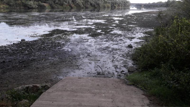Où est passée la Moselle en aval du barrage d'Agancy? 20200810