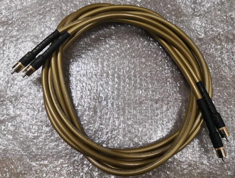 Cardas Hexlink Golden 5C (RCA Interconnect Cable) Cardas12