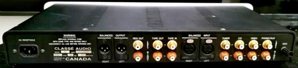 Classe Audio 30 Preamp with Phonostage (Sold) Classe12