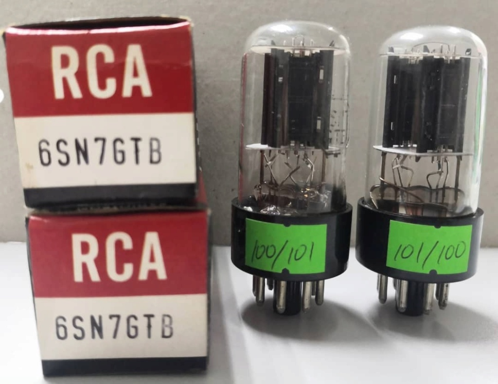 RCA 6SN7GTB Match Pair Tubes (Price Reduced) Sold Rca_6s11