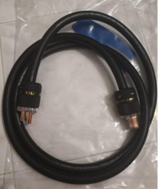Transparent Powerlink XL Power Cord - 2M Sold Transp12