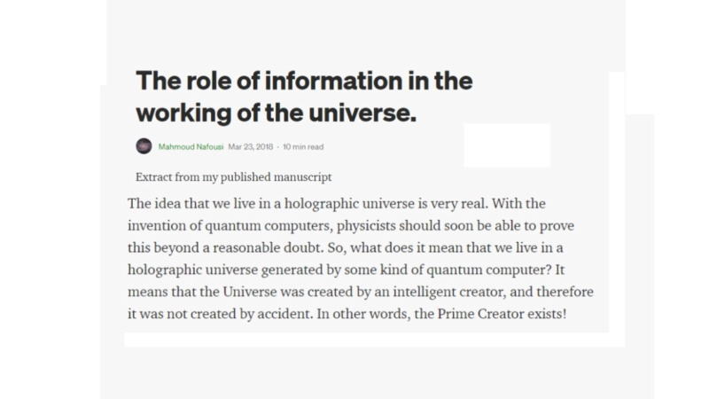 Decoding reality - Information is fundamental  210