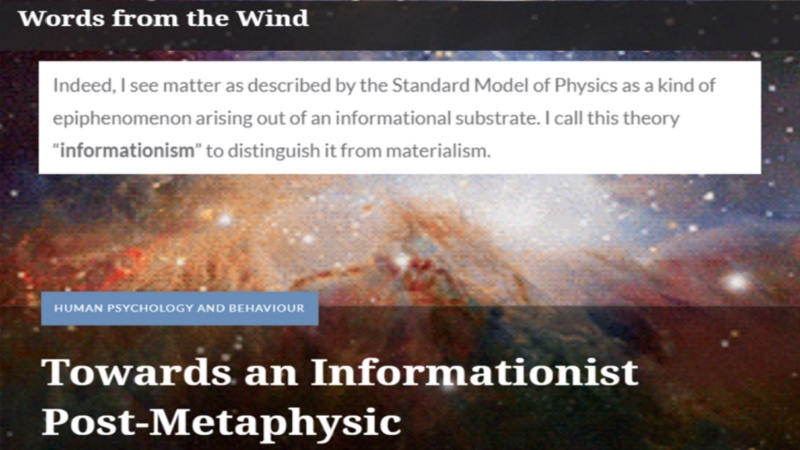 Decoding reality - Information is fundamental  410