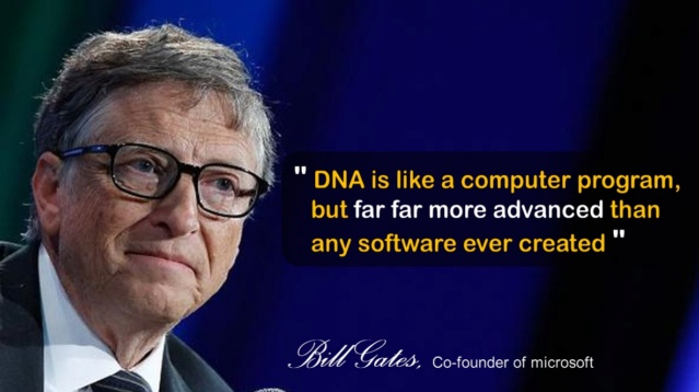 DNA is like a computer program Bill_g10