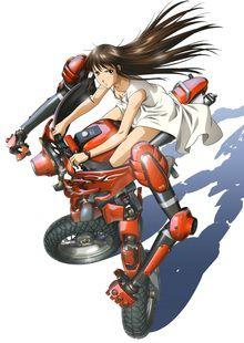 [ANIME/MANGA] Ride Back (RideBack) Ride-b10