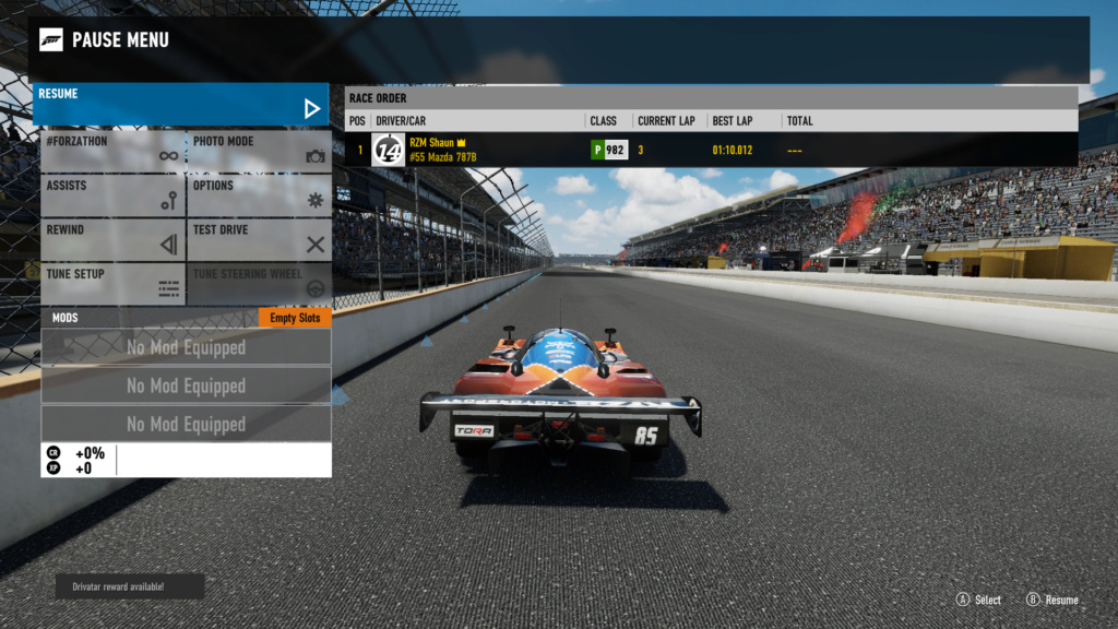 TORA 8 Hours of Indianapolis - GTP Class 107% Verification Fm7_in10