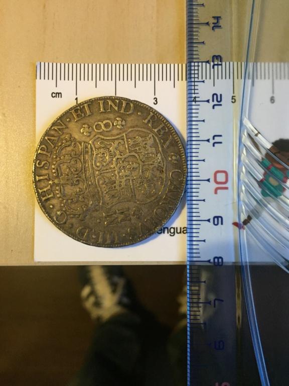 Moneda de 8 Reales 1761 MM Foto_110