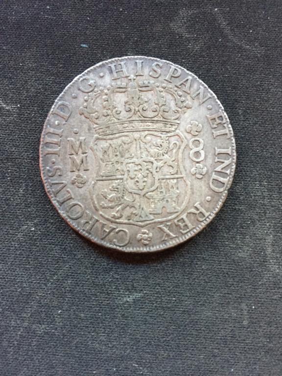 Moneda de 8 Reales 1761 MM Foto_213