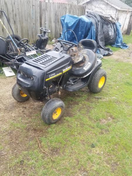 Yard Machines Rally/crawler/utility build 20210315