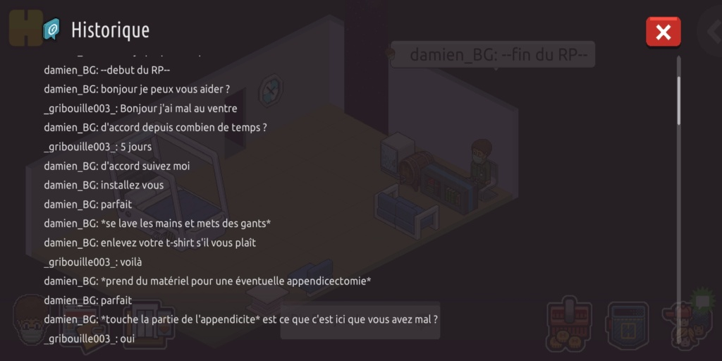 [C.H.U.] Rapport d'action RP de damien_BG Screen17