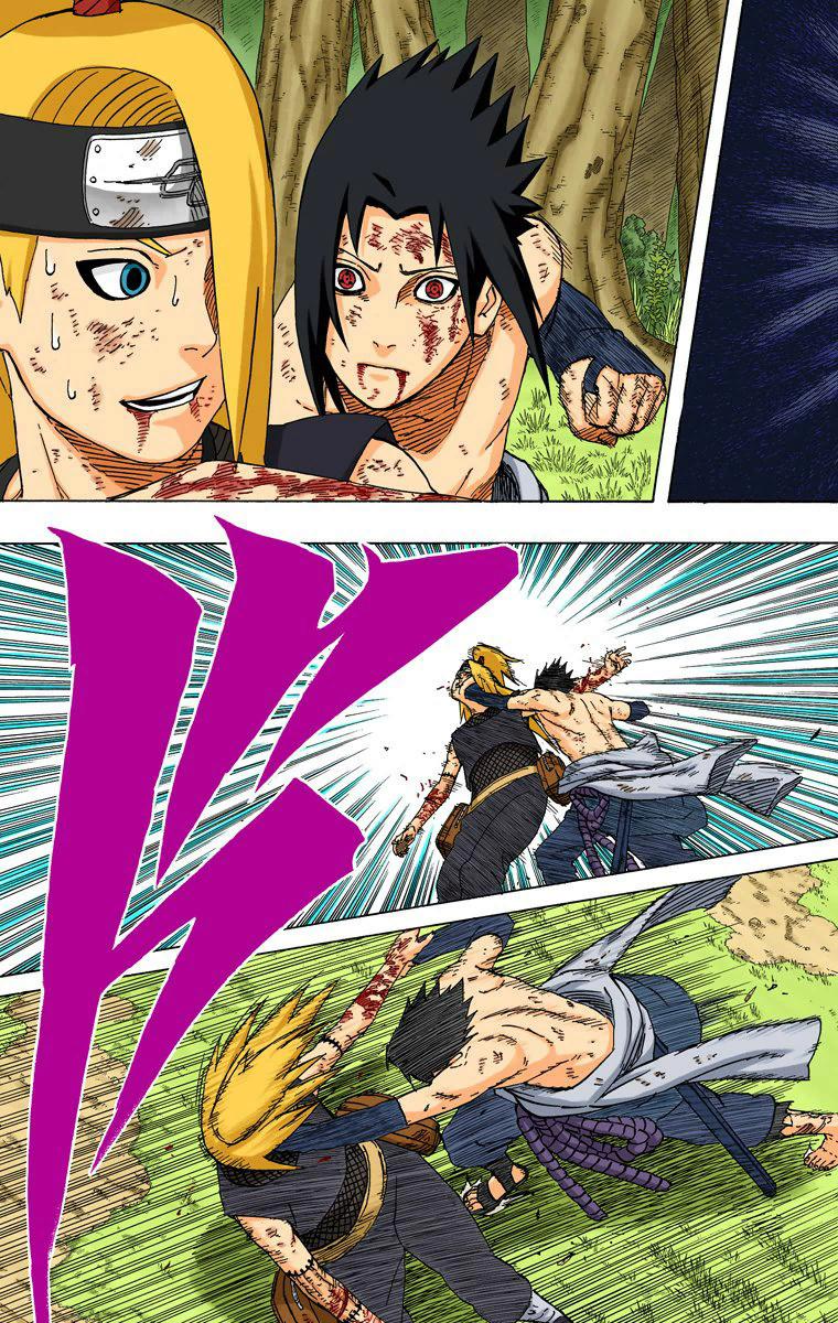 Sasuke venceu Deidara porque ele era counter? 03410