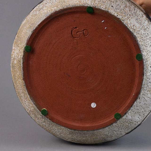 ID help for lava glaze pot signed GO Dsc_6413