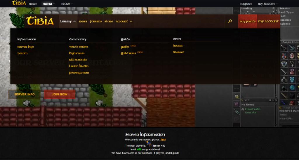 [Web] World of Warcraft Layout Wow110