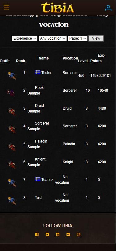 [Web] World of Warcraft Layout Wow910