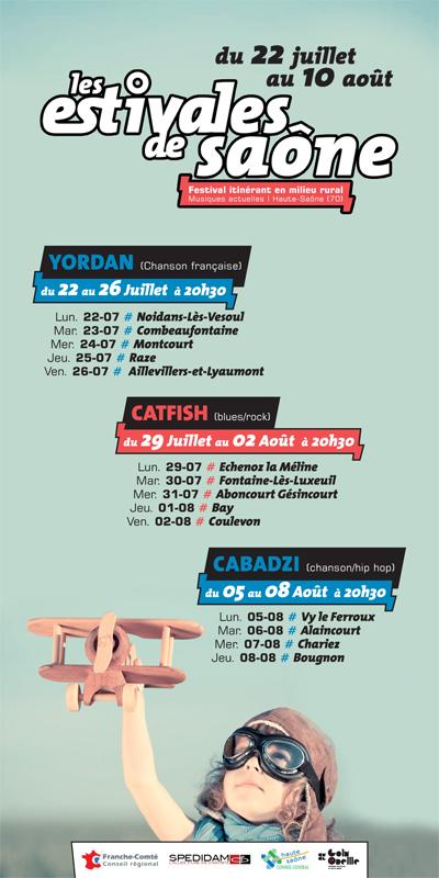 Les Estivales de Saône Affich10