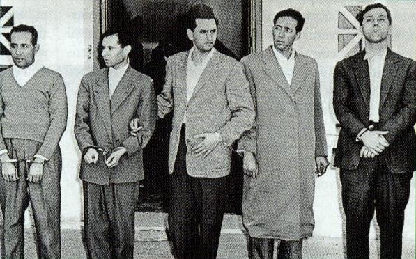 Khider - Lacheraf - Aït Ahmed - Boudiaf - Ben Bella Khider10