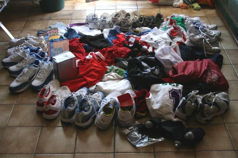 Christian: Un geste sympa pour des athlètes démunis ! Congo210