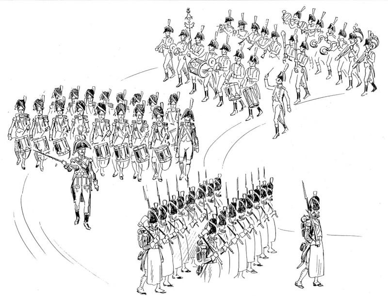 La tête de colonne des Grenadiers de la Garde Tate_d11