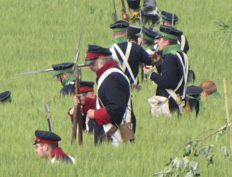 194ème anniversaire de la bataille de Waterloo Waterl10