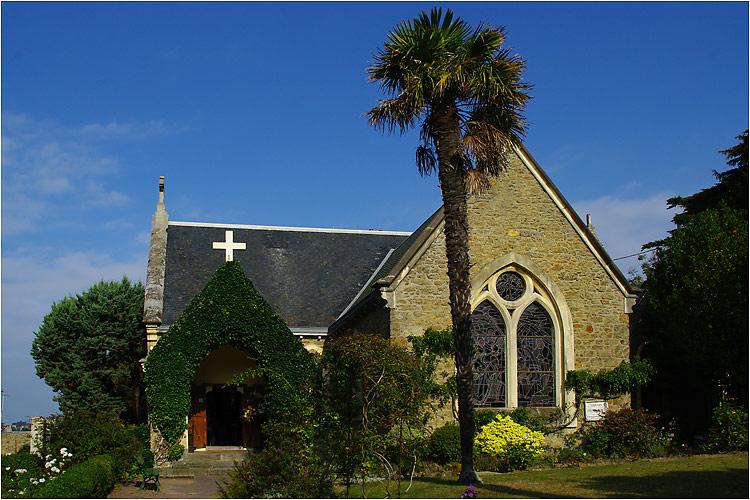 l'église anglicane Saint Barthélémy à Dinard Imgp2610