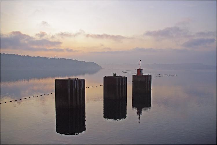 Barrage et usine marémotrice de la Rance Lever-10