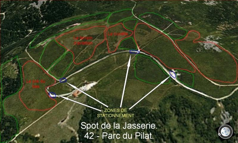 Plan de ''secteurs'' la Jasserie Captur13