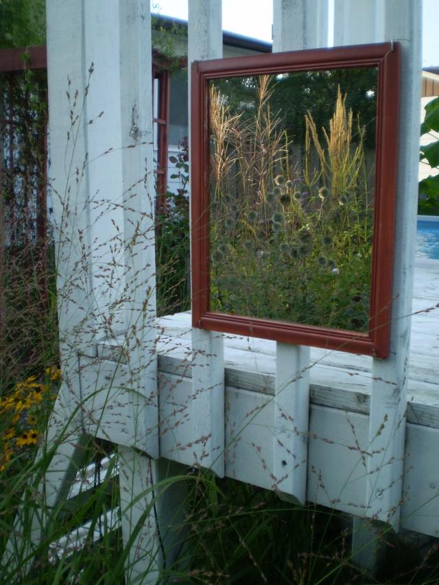 Un miroir pour le jardin...pourquoi pas?!? Miroir10