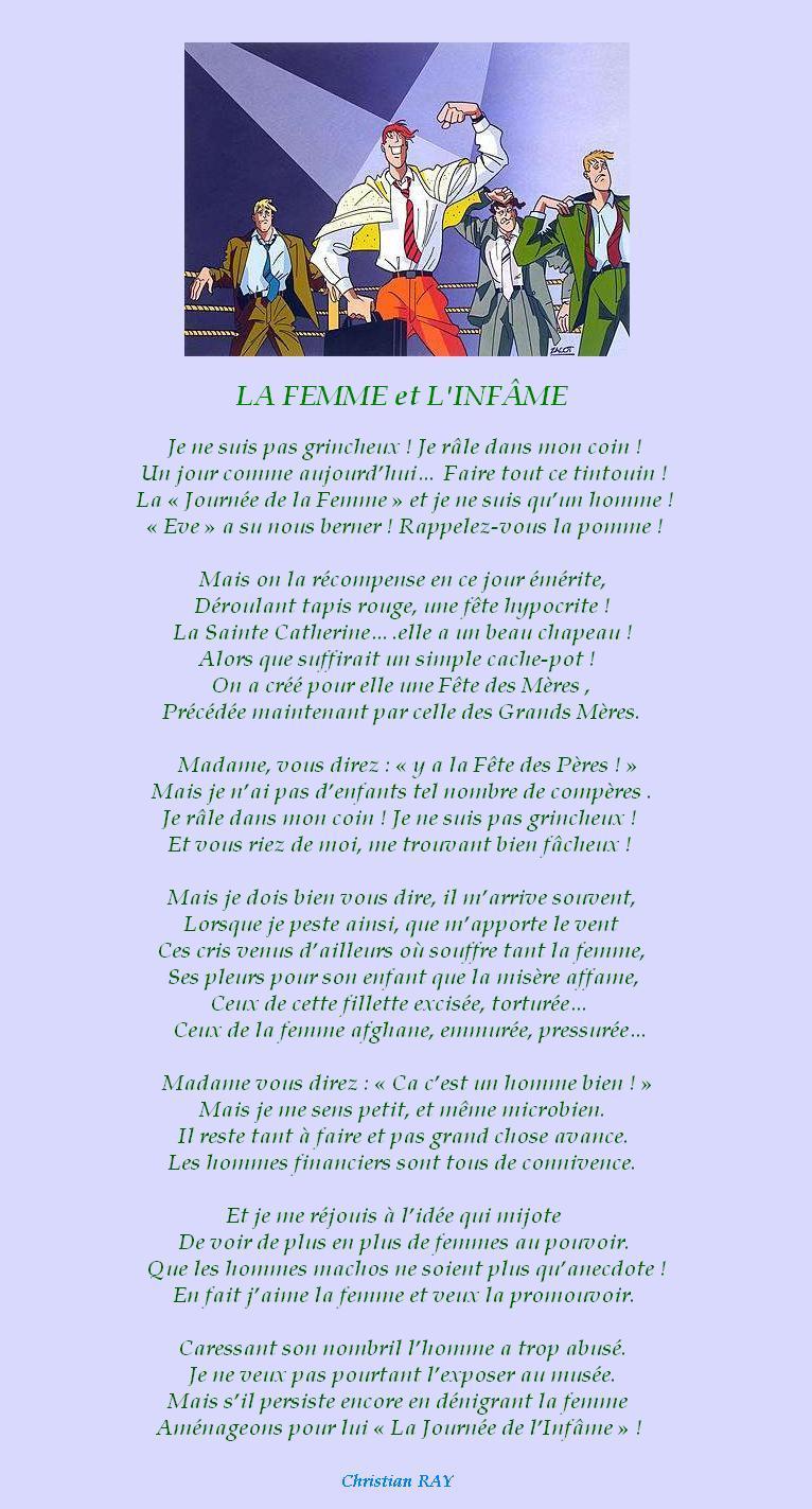 """"""" LA JOURNEE INTERNATIONALE DE LA FEMME """" La_fem11"""