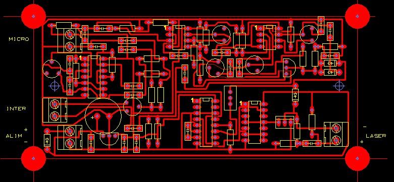 TX-RX Laser FM 100 Khz Tcitx10