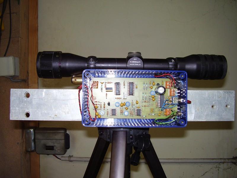 TX-RX Laser FM 100 Khz Txenbo10