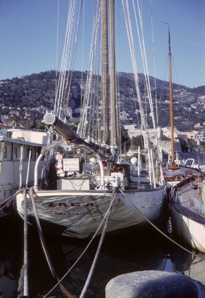 Boat view, street view se jette à l'eau Zaca1910