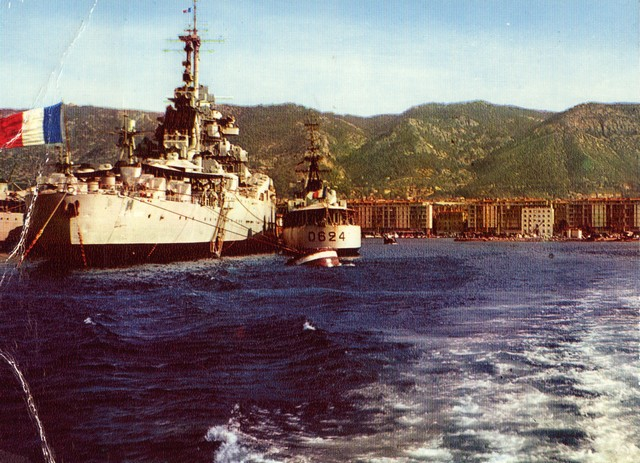 [Les ports militaires de métropole] TOULON au début des années 60 - Page 2 D_00710
