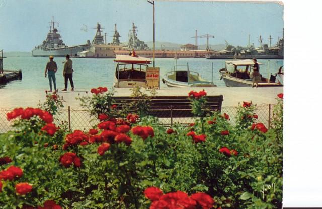 [Les ports militaires de métropole] TOULON au début des années 60 - Page 2 D_00810