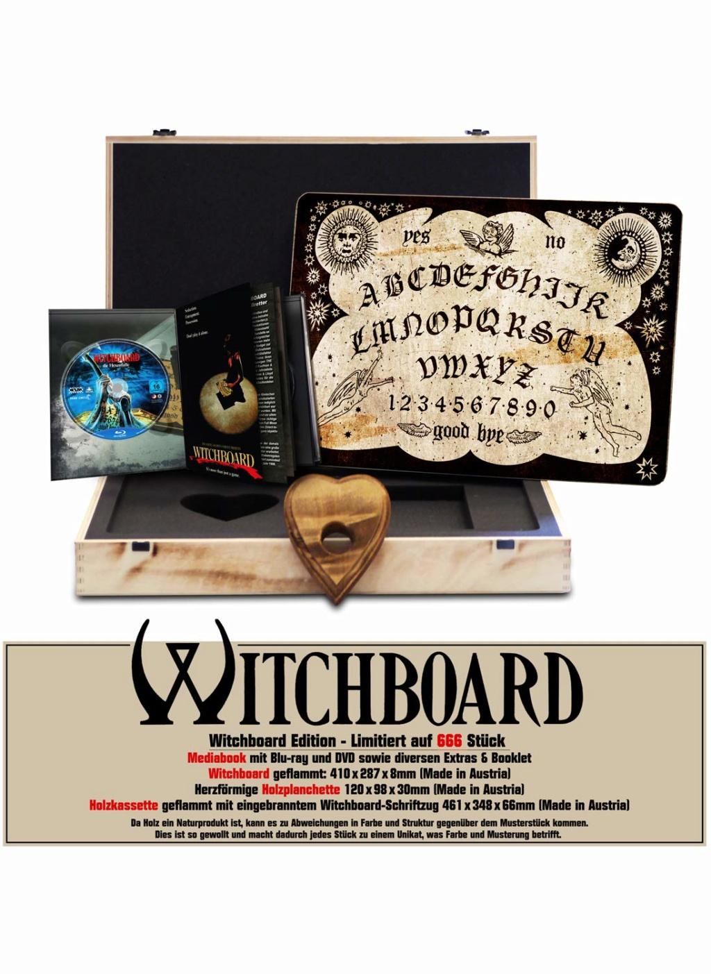 Witchboard - Die Hexenfalle uncut - auf 666 Stück limitiertes Quija Board inkl. Mediabook 71l1q810