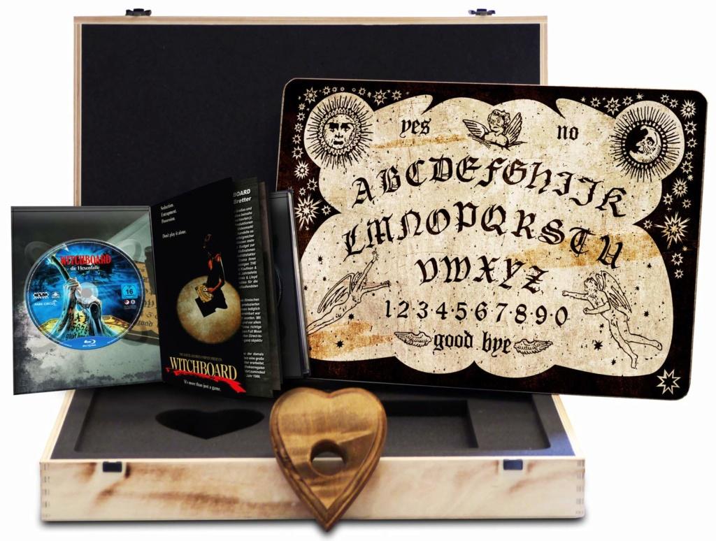 Witchboard - Die Hexenfalle uncut - auf 666 Stück limitiertes Quija Board inkl. Mediabook 81codk10