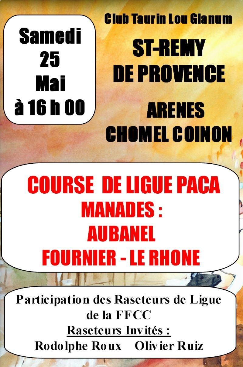 Course de Ligue Saint remy de provence samedi 25 mai Affich12