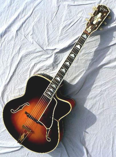 GOYA  G.20   G.10  G.15  (for Gretsch)  1956 61goya10