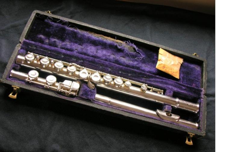 Vintage Gretsch Copper(cuivre) Flute_10