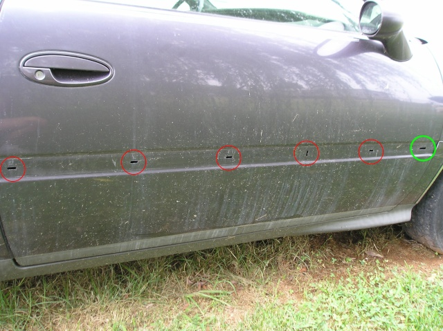 Write-Up: Side Bumper Molding Removal Moldin13